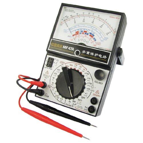 Aexit Volt Ohm AC DC - Messgerät Analoges Multimeter Batterietester Schwarz (0aaa6c4a697cea553024c4e63f46f7eb)