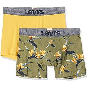 Levi's Levis Men Tropical AOP Boxer Brief 2p (Pack de 2) para Hombre