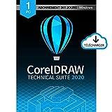 CorelDRAW Technical Suite 2020 | Subscription | PC | Code d'activation PC - envoi par email