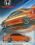 Hot Wheels Honda Series Orange Honda Civic SI DIE-CAST
