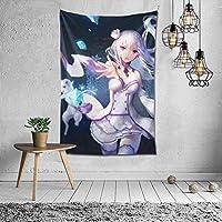スクラッチタペストリーとは異なる世界での生活壁掛け装飾壁掛け寝室リビングルーム寮スタイリッシュな色 60x40inch/150x100cm