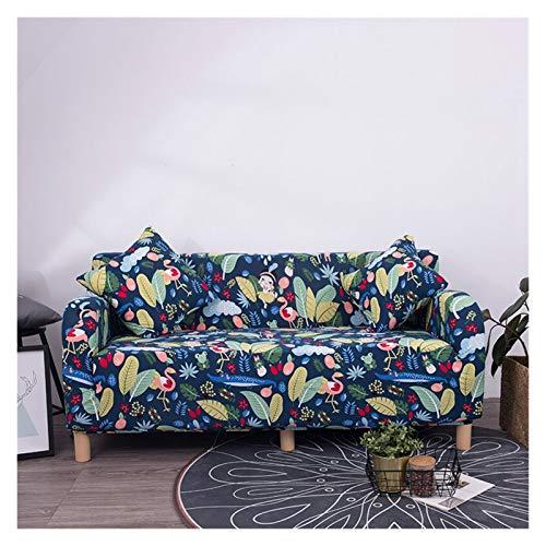 NEWRX Floral Patry Sofá Cubierta Sofá Elástico Sofá Universal Sofá Sección Sección Sofá Cubierta de Esquina para Sillones de Muebles (Color : Color 22, Specification : 1 Seat 90 140cm)