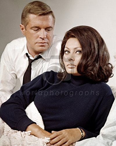 Operatie Kruisboog (1965) Sophia Loren, George Peppard 10x8 foto