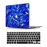 NEWCENT MacBook Air 13' Funda,Plástico Ultra Delgado Ligero Cáscara Cubierta EU Teclado Cubierta para Antigua MacBook Air 13 Pulgadas 2010-2017 Versión(Modelo:A1466/A1369),Vistoso 172
