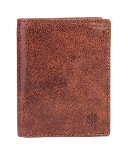 EASTLINE Accessoires Geldboersen Kombibörse 0672-02 braun 98982