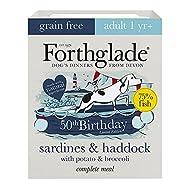 Complete Natural Wet Dog Food - Grain Free Sardines & Haddock (7 x 395g) Trays