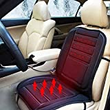 Xtremeauto 12v Universal Heated Car Heater Seat Hot Cushion Cover Complete Sticker