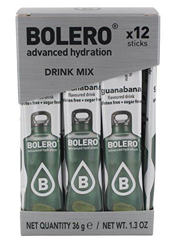 Bolero Sticks Guanabana - Paquete de 12 x 3 gr