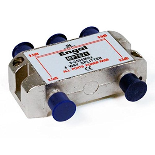 Engel MP7621 - Distribuidor de señal para equipos por satélite (estándar, 4...