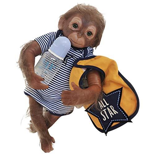 tomoyou Renacimiento muñeca Amazon simulación Mono bebé Hecho a Mano