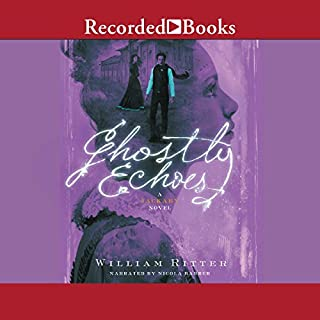 Ghostly Echoes audiobook cover art