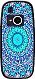 mobilinnov - cover per nokia 3310 (2017) in silicone con design – cover morbida per nokia 3310 (2017) antiurto – protezione infrangibile