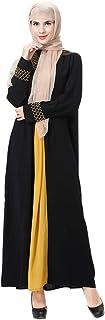 HANYIMIDOO Casual Abaya Dress For Women Long Sleeve Dress Women's Traditional Wear