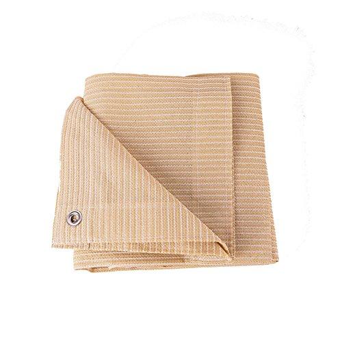 Toldos Duo Beige 90% Tela de Sombra Paño de Sombra Solar con Ojales para Cubierta de pérgola Canopy (Tamaño : 3×6M)