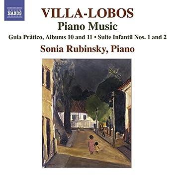 Villa-Lobos, H.: Piano Music, Vol. 8 (Rubinsky) - Guia Pratico, Books 10, 11 / Suites Infantil Nos. 1, 2 / Guia Pratico, Vol. 1 (Excerpts)