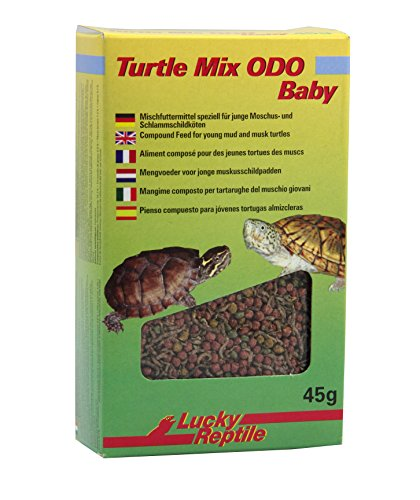 Lucky Reptile Aliment pour Tortue Turtle ODO - Mélange pour Tortue Adulte