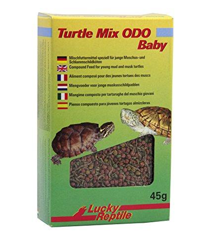 Lucky Reptile Turtle Mix ODO Baby 45g, Spezialfutter für Moschusschildkrötenbabys