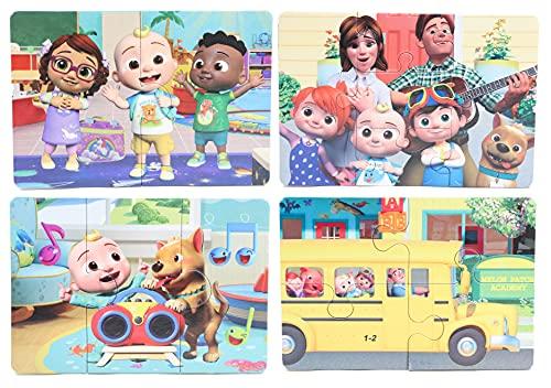 Toyland Cocomelon My First Puzzles - 4 rompecabezas - Juguetes para niños pequeños - Edad 18 meses +