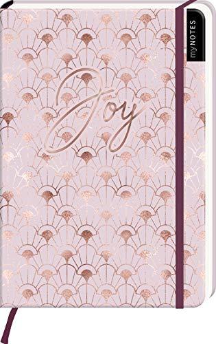 myNOTES Notizbuch A5: Joy: Notebook medium, dotted - für Träume, Pläne und Ideen / ideal als Bullet Journal oder Tagebuch