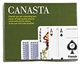 Piatnik P2555 - Juego de Cartas Estilo Canasta