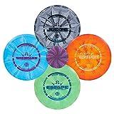 Dynamic Discs Four Disc Prime Burst Disc Golf Starter Set   Trespass Distance Driver   Escape Fairway Driver   EMAC...