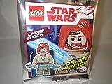 LEGO Figura Star Wars Obi WAN Kenobi con Luce Blu Spada - Limited Edition - 911839 - Polybag -