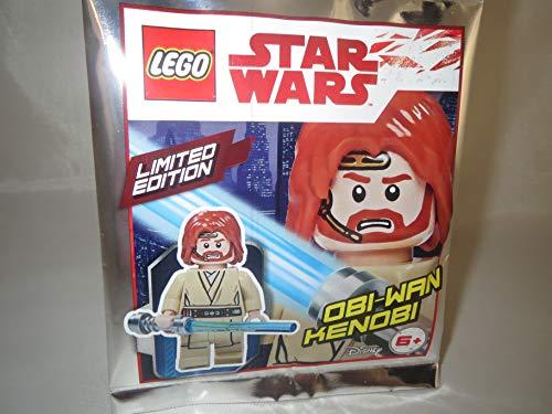 LEGO Star Wars Figur Obi-WAN Kenobi mit blauem Lichtschwert- Limited Edition - 911839 - Polybag -