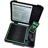 AiCooler Digital Refrigerant Electronic Charging/Recover Scale, Freon Charging for HVAC/AUTO 220lbs(100kg), with LCD Display and LED Backlight, Free 9V Battery and a Durable Carrying Case