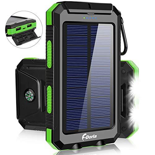 Solar Charger,F.DORLA 20000mAh Portable Outdoor...