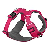RUFFWEAR, Front Range Dog Harness, Reflective and Padded Harness for Training and Everyday, Wild Berry, Medium