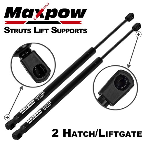 Maxpow 2Pcs Tailgate Trunk Liftgate Lift Supports Struts Replacement for Chevy Suburban 2000-2004 / GMC Yukon (All Trims) 2001-2004 / Cadillac Escalade (Not Pickup) 2002-2006