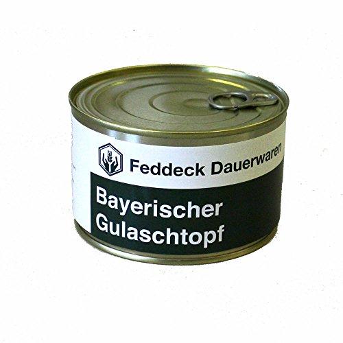 Fertiggericht Dose Bayerischer Gulaschtopf, 400 g