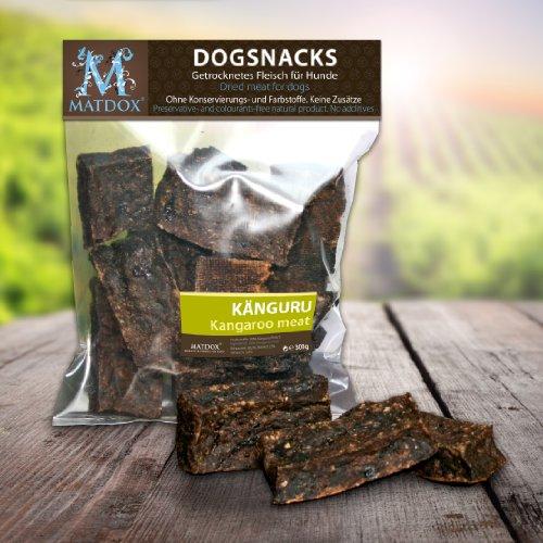 Matdox Hundesnack Big-Pack Känguru Magerfleisch 300g Beutel