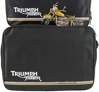 made4bikers: Koffer Innentaschen passend für TRIUMPH TIGER 800, 800XC XC, Explorer KofferInnentaschen SCHWARZ