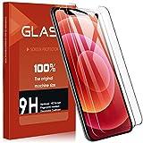 SHINEZONE For iPhone 12/ iPhone 12 pro 2020 ガラスフイルム 2枚セット 6.1 インチ 強化ガラス液晶保護フィルム 日本旭硝子製 防指紋 透過率99.9%
