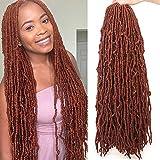 Leeven 24 Inch Long New Faux Locs Crochet Hair 21...