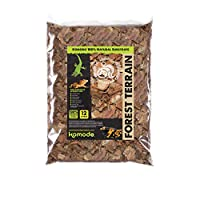 Great for both wet or dry environments, and to help create humidity the bark chips can be moistened The bark chippings help to create a typical reptile environment within their enclosed terrarium or vivarium habitat The substrate is sourced from a 10...