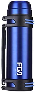 XIMINGJIA Fuguang, King Kong Series, Thermos Cup, Stainless Steel, Large Capacity, Thermos, Car, Insulation Kettle, Outdoor, Insulation Pot, Blue 2.2L Insulated coffee cup (Color : Blue)