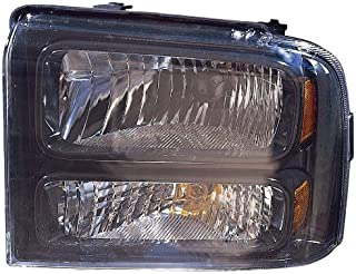 LED Larson Electronics 1015P9J32CY 1999 Ford F250-750 SUPER-DUTY WO GRIP Door mount spotlight Passenger side WITH install kit -Chrome 6 inch
