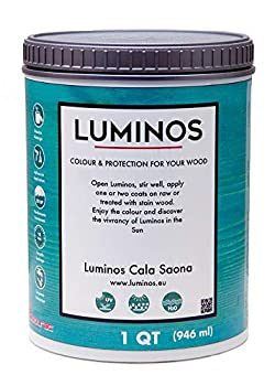 Luminos LUM1103 - CALA SAONA - Outdoor Wood Finish Stain Protector - Blue Cala Saona 1QT