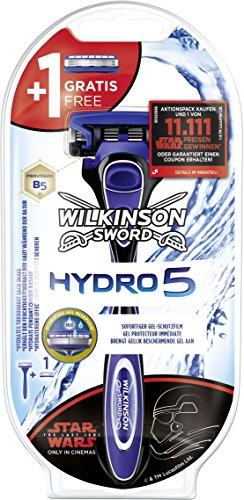Wilkinson Sword Hydro 5 Herren Rasierer Starterset mit 2 Rasierklingen (sortiert, Edition nicht wählbar), 1 St