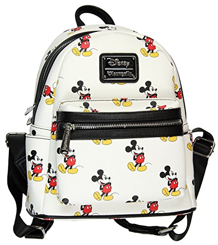 Loungefly Disney Mickey Mouse All Over Print Mini Backpack