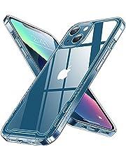 【2021革新版 未来感デザイン 】 Humixx iPhone13 用 ケース ユニーク クリア 黄変防止 耐衝撃 米軍MIL規格 耐久 SGS認証 ワイヤレス充電対応 2021年 アイフォン13 用 ケース iPhone13 用 カバー 6.1 インチ