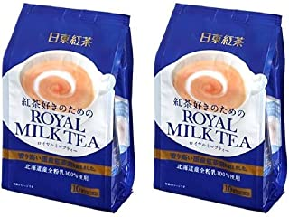 TWIN Pack Royal Milk Tea Hot Cold Nitto Kocha 10 Pouch Pack (total 20 pouch