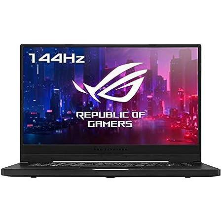 "ASUS GA502IV-HN020 ROG Zephyrus G15 - Portátil Gaming de 15,6"" FullHD 144Hz (Ryzen 7 4800HS, 16GB RAM, 512GB SSD, GeForce RTX2060-6GB, sin Sistema Operativo) Negro - Teclado QWERTY Español"