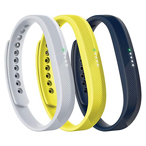 Fitbit Flex 2 Accessory 3 Piece Pack, Sport, Large, 0.13 Pound