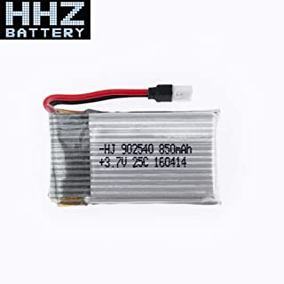 Part & Accessories 2 pcs 3.7V 850mAh JJRC H97 Lipo Batteries For X5C X5SW X5SC CX30 CX-30 W Quad Drone Battery RC Airplanes Helicopters