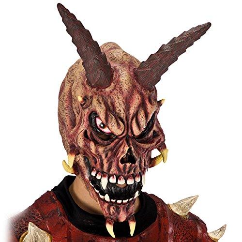 DC Masque de Squelette Demon Corne - Adulte - Deguisement Halloween - 581