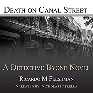 Death on Canal Street audiobook cover art