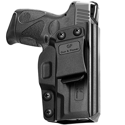 Taurus G2C Holster, Taurus G3C Holster Polymer IWB for Concealed Carry G2C Taurus Holster | Adj. Cant & Retention | Inside Waistband | Taurus G2C Accessories |Compatible with Taurus PT111,Taurus PT140